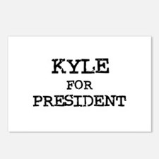 Kyle for President Postcards (Package of 8)