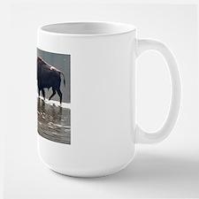 Backlit Bison Large Mug
