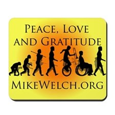 Mike Welch SuperFan Club Mousepad
