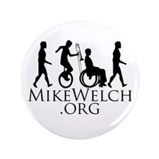 "Mike Welch SuperFan Club 3.5"" Button"