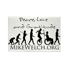 Mike Welch SuperFan Club Rectangle Magnet