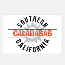 Calabasas California Postcards (Package of 8)