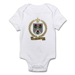 DOIRON Family Crest Infant Creeper