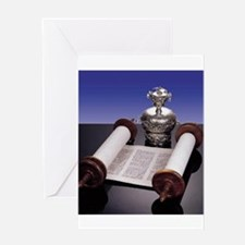 Torah Crown Greeting Card