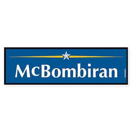 Mcbombiran Anti McCain Bumper Sticker