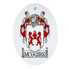 McGuirk Coat of Arms Keepsake Ornament