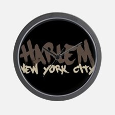 Harlem Painted Wall Clock