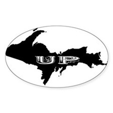 UP - Upper Peninsula Oval Decal