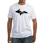 UP - Upper Peninsula Fitted T-Shirt