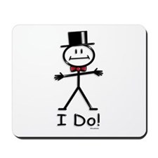 BusyBodies Wedding Groom Mousepad