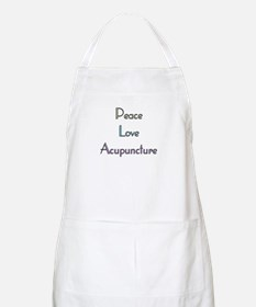 Peace, Love and Accupuncture BBQ Apron