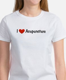 I love acupuncture Women's T-Shirt