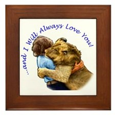 I Will Always Love You Framed Tile
