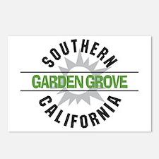 Garden Grove California Postcards (Package of 8)
