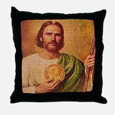 Saint Jude Throw Pillow