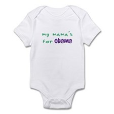 My Mama's For Obama Infant Bodysuit