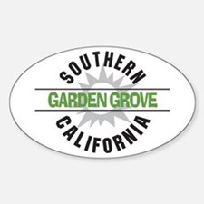 Garden Grove California Oval Decal