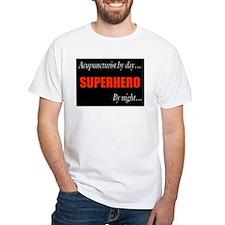 Superhero Acupuncturist Gift Shirt