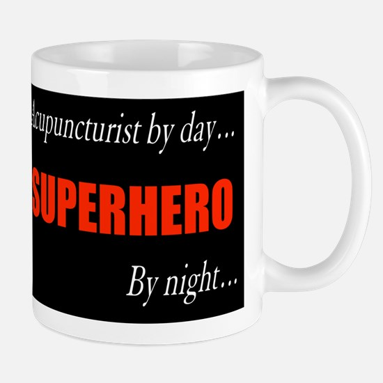 Superhero Acupuncturist Gift Mug