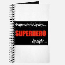 Superhero Acupuncturist Gift Journal