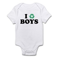 I Recycle Boys Infant Bodysuit