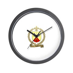 DION Family Crest Wall Clock