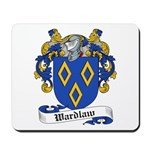 Wardlaw Family Crest Mousepad