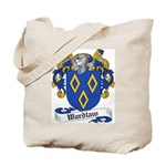 Wardlaw Family Crest Tote Bag