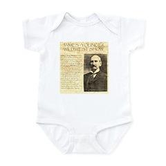 James Wild West Show Infant Bodysuit