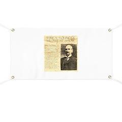 James Wild West Show Banner