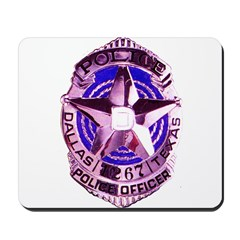 Dallas Police Officer Mousepad