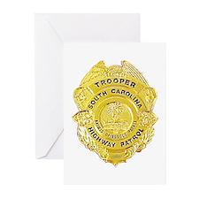 South Carolina Highway Patrol Greeting Cards (Pk o