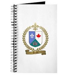 DEZIEL Family Crest Journal