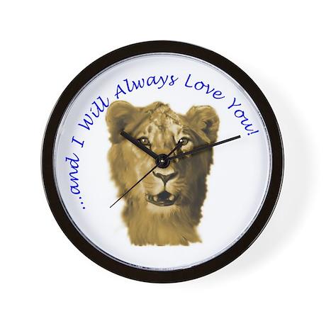 I Will Always Love You (alt) Wall Clock