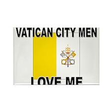 Vatican City Men Love Me Rectangle Magnet