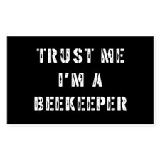 Beekeeper Rectangle Decal