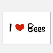 I love Bees Postcards (Package of 8)