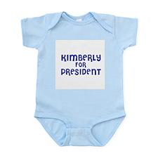 Kimberly for President Infant Creeper