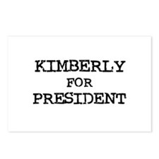 Kimberly for President Postcards (Package of 8)