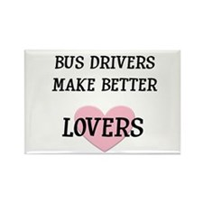 Bus Driver Rectangle Magnet