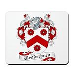 Wedderburn Family Crest Mousepad