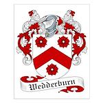 Wedderburn Family Crest Small Poster
