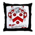 Wedderburn Family Crest Throw Pillow