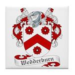 Wedderburn Family Crest Tile Coaster