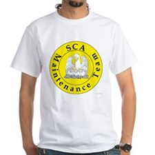SCA Maintenance Team White T-Shirt