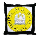 SCA Maintenance Team Throw Pillow