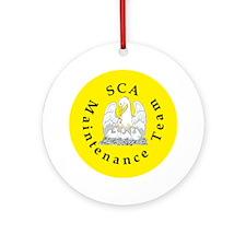 SCA Maintenance Team Ornament (Round)
