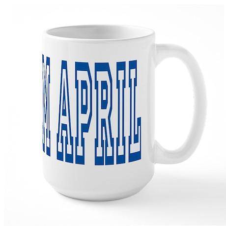 TEAM APRIL Large Mug