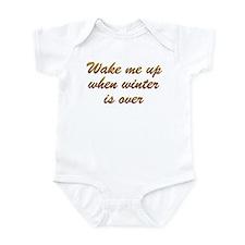 Wake Me Up Infant Bodysuit