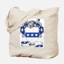 Weir Family Crest Tote Bag